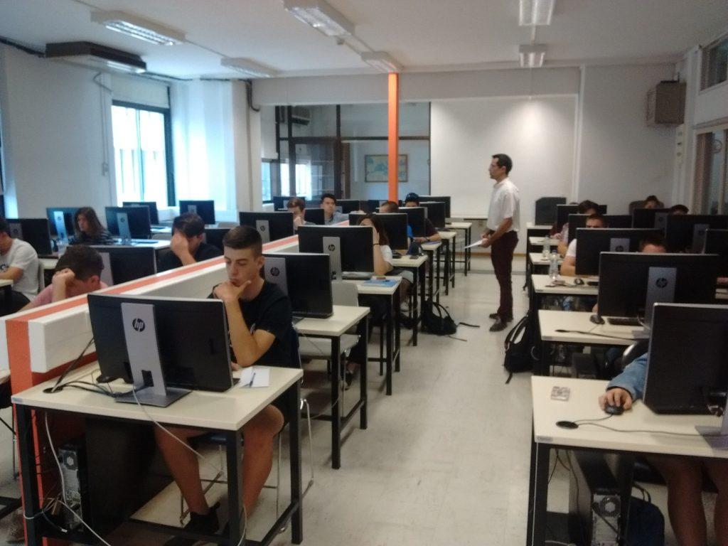 Στο εργαστήριο υπολογιστών του Πανεπιστημίου Μακεδονίας για την αξιολόγηση του ThesSummerSchool