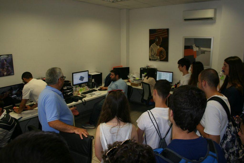 Κατά την επίσκεψή μας στην Cavazos Thes3D