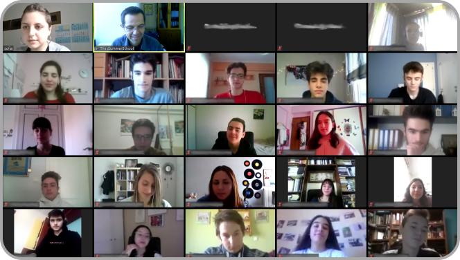 Συμμετέχοντες πρώτου e-ThesSummerSchool - Ομαδική φωτογραφία